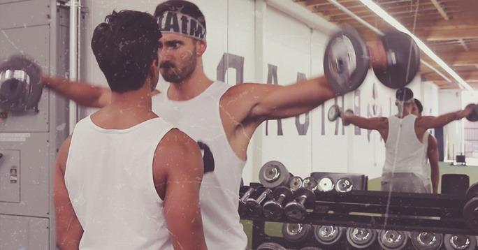 guys on the gym