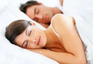 Sex improves sleep