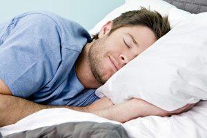 Enjoying sleep