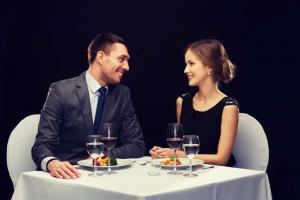 formal dinner date