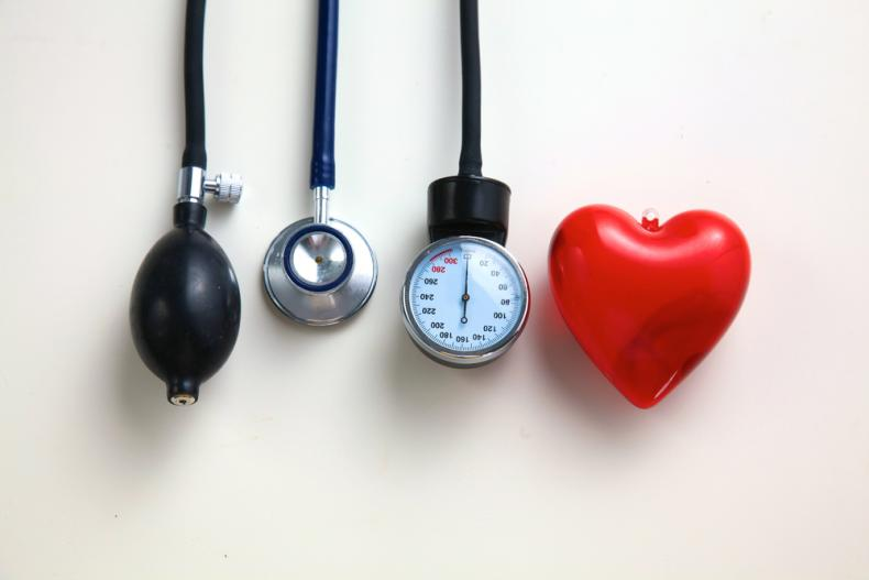 heart and blood pressure apparatus