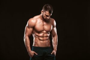 ripped body and six-pack