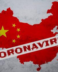 Coronavirus China map