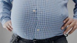 fat man's belly